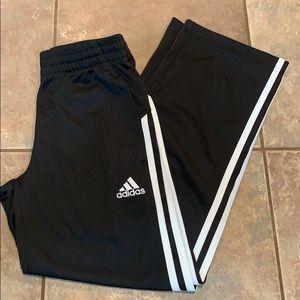 Adidas wind pants athletic boys joggers